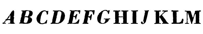 pb Font UPPERCASE