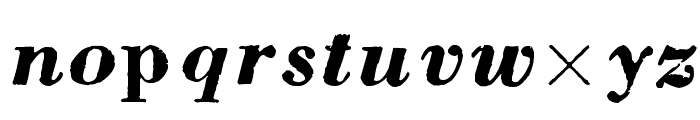 pb Font LOWERCASE