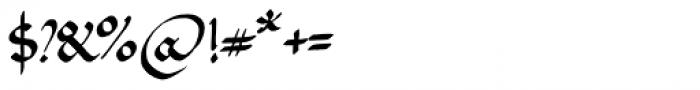 PB Beneventan XIc Font OTHER CHARS