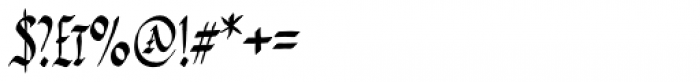 PB Capitalis Rustica IVc Font OTHER CHARS