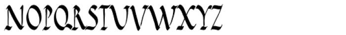 PB Capitalis Rustica IVc Font UPPERCASE