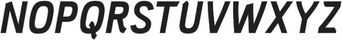 PC Navita Bold-Oblique otf (700) Font UPPERCASE