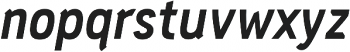 PC Navita Bold-Oblique otf (700) Font LOWERCASE