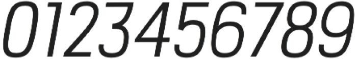 PC Navita Book-Oblique otf (400) Font OTHER CHARS