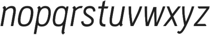 PC Navita Book-Oblique otf (400) Font LOWERCASE
