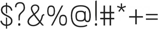 PC Navita Light otf (300) Font OTHER CHARS