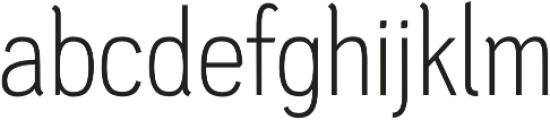 PC Navita Light otf (300) Font LOWERCASE