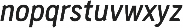 PC Navita Semibold-Oblique otf (600) Font LOWERCASE