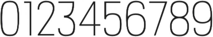PC Navita Thin otf (100) Font OTHER CHARS