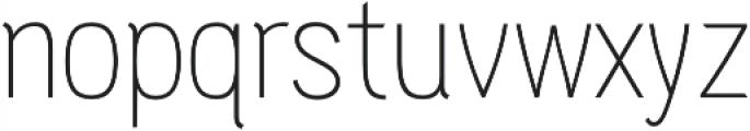 PC Navita Thin otf (100) Font LOWERCASE