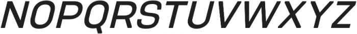 PCTL9600 Regular Italic otf (600) Font UPPERCASE