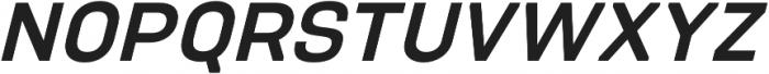 PCTL9600 Semi-Bold Italic otf (600) Font UPPERCASE