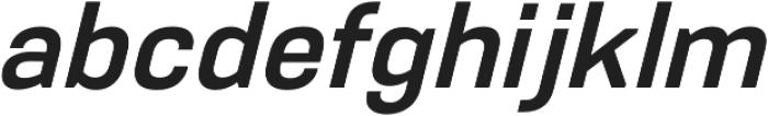 PCTL9600 Semi-Bold Italic otf (600) Font LOWERCASE