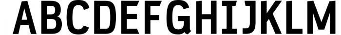 PC Navita Friendly Geometric Font 1 Font UPPERCASE