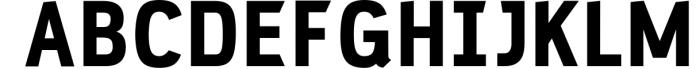 PC Navita Friendly Geometric Font 6 Font UPPERCASE