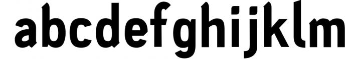 PC Navita Friendly Geometric Font 6 Font LOWERCASE