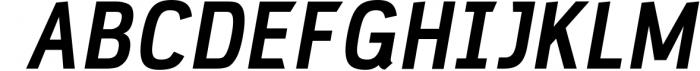 PC Navita Friendly Geometric Font Font UPPERCASE