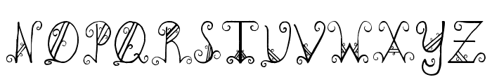 PC-GothicScroll Font UPPERCASE