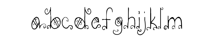 PC-GothicScroll Font LOWERCASE