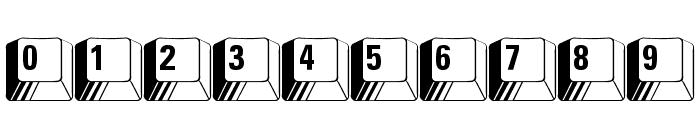 PC Keys Font OTHER CHARS