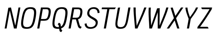 PC Navita Book-Oblique Font UPPERCASE
