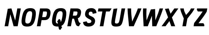 PC Navita Extra Bold-Oblique Font UPPERCASE