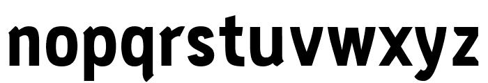PC Navita Extra Bold Font LOWERCASE