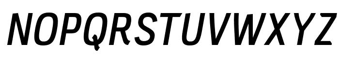 PC Navita Semibold-Oblique Font UPPERCASE