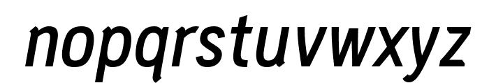 PC Navita Semibold-Oblique Font LOWERCASE