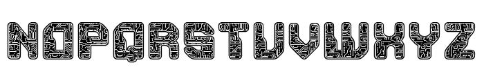 PCB Font UPPERCASE