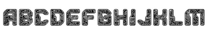 PCB Font LOWERCASE