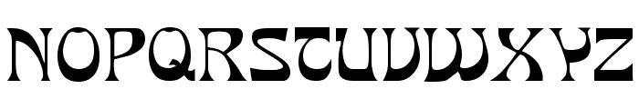 PCMIra Regular Font UPPERCASE