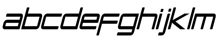 PCap Terminal Condensed Italic Font LOWERCASE