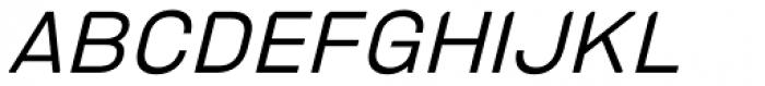 PCTL4800 Light Italic Font UPPERCASE