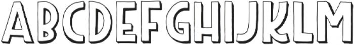 Peabo Regular otf (400) Font LOWERCASE