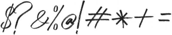 Peace Maker otf (400) Font OTHER CHARS