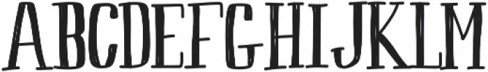 Peach ttf (400) Font UPPERCASE
