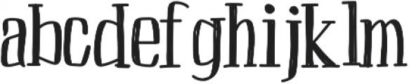 Peach ttf (400) Font LOWERCASE