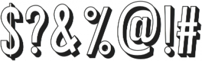 Peachy otf (400) Font OTHER CHARS