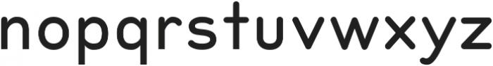 Peak Medium ttf (500) Font LOWERCASE