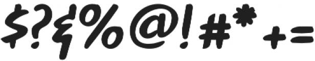 Peanut otf (400) Font OTHER CHARS