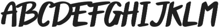 Peanut otf (400) Font UPPERCASE