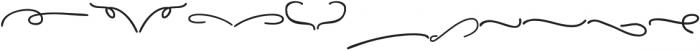 Pear Dragon Extras otf (400) Font UPPERCASE