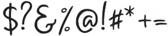 Pear Dragon Script otf (400) Font OTHER CHARS
