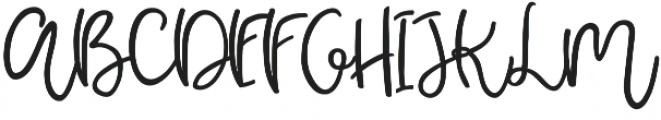 Pear Dragon Script otf (400) Font UPPERCASE