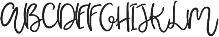 Pear Dragon Script ttf (400) Font UPPERCASE
