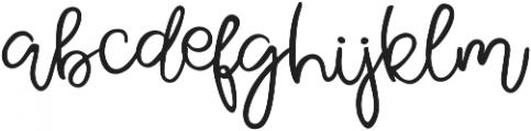 Pear Dragon Script ttf (400) Font LOWERCASE