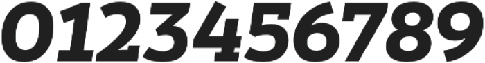 Peckham Black It otf (900) Font OTHER CHARS