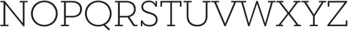 Peckham Light otf (300) Font UPPERCASE