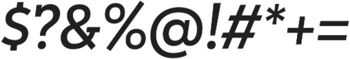 Peckham SemiBold It otf (600) Font OTHER CHARS